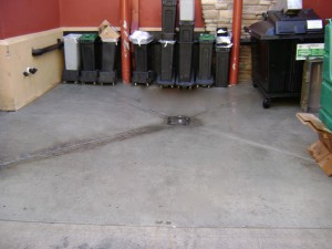 Dumpter area cleaning Knoxville TN after